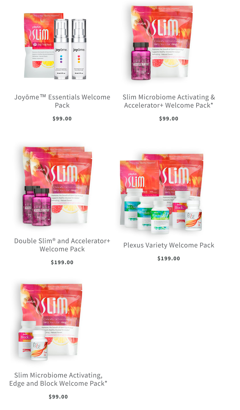 Plexus welcome pack